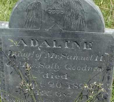 GOODNOW, ADALINE - Middlesex County, Massachusetts | ADALINE GOODNOW - Massachusetts Gravestone Photos
