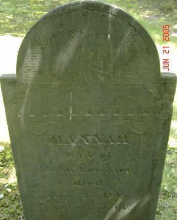 GOODNOW, HANNAH - Middlesex County, Massachusetts   HANNAH GOODNOW - Massachusetts Gravestone Photos