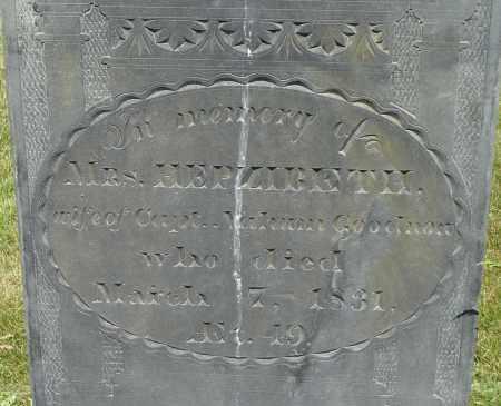 GOODNOW, HEPZIBETH - Middlesex County, Massachusetts | HEPZIBETH GOODNOW - Massachusetts Gravestone Photos