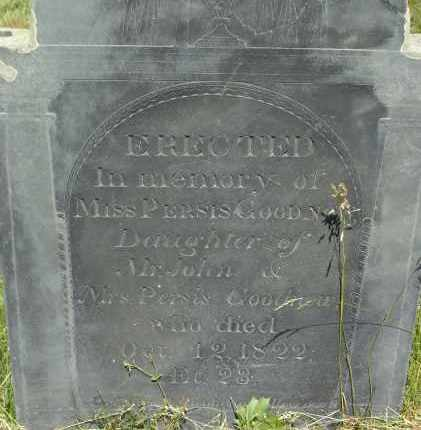 GOODNOW, PERSIS - Middlesex County, Massachusetts | PERSIS GOODNOW - Massachusetts Gravestone Photos