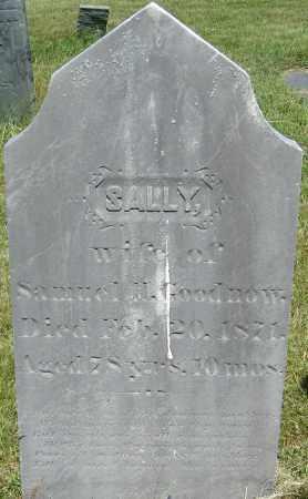 GOODNOW, SALLY - Middlesex County, Massachusetts   SALLY GOODNOW - Massachusetts Gravestone Photos