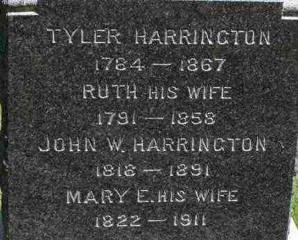 HARRINGTON, MARY E - Middlesex County, Massachusetts | MARY E HARRINGTON - Massachusetts Gravestone Photos
