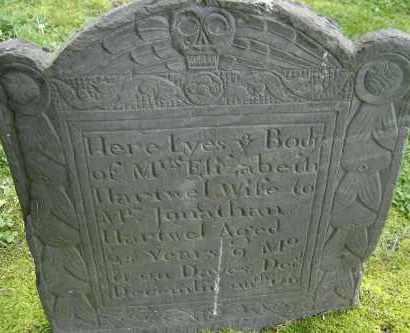 HARTWEL, ELIZABETH - Middlesex County, Massachusetts | ELIZABETH HARTWEL - Massachusetts Gravestone Photos