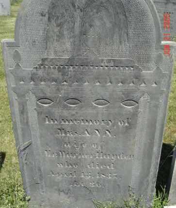 MOORE, ANN - Middlesex County, Massachusetts | ANN MOORE - Massachusetts Gravestone Photos