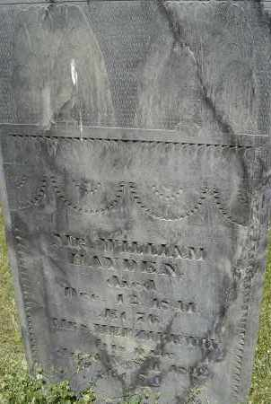 HAYDEN, HEPZIBETH - Middlesex County, Massachusetts | HEPZIBETH HAYDEN - Massachusetts Gravestone Photos