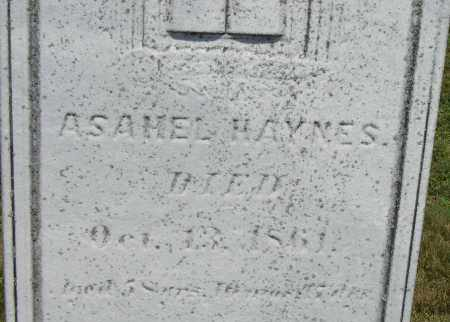 HAYNES, ASAHEL - Middlesex County, Massachusetts | ASAHEL HAYNES - Massachusetts Gravestone Photos