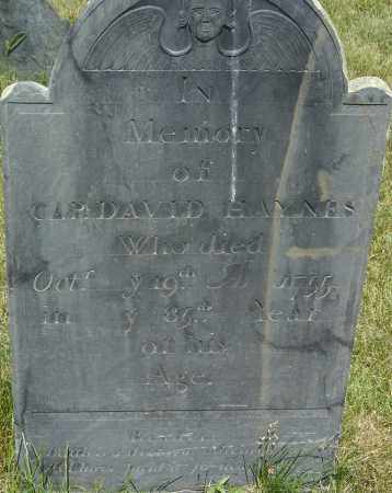 HAYNES, DAVID - Middlesex County, Massachusetts | DAVID HAYNES - Massachusetts Gravestone Photos