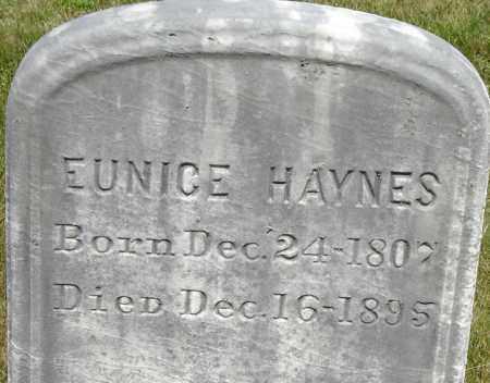 HAYNES, EUNICE - Middlesex County, Massachusetts | EUNICE HAYNES - Massachusetts Gravestone Photos