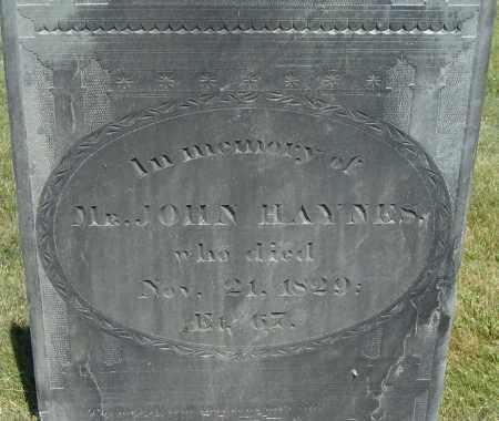 HAYNES, JOHN - Middlesex County, Massachusetts | JOHN HAYNES - Massachusetts Gravestone Photos