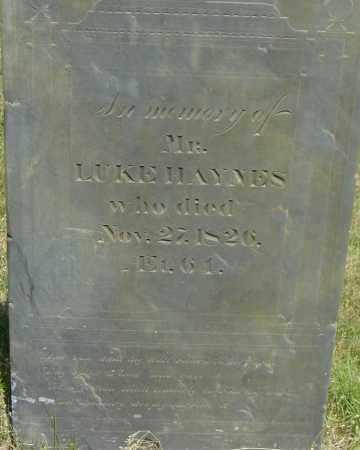 HAYNES, LUKE - Middlesex County, Massachusetts   LUKE HAYNES - Massachusetts Gravestone Photos