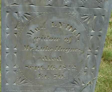 HAYNES, LYDIA - Middlesex County, Massachusetts | LYDIA HAYNES - Massachusetts Gravestone Photos