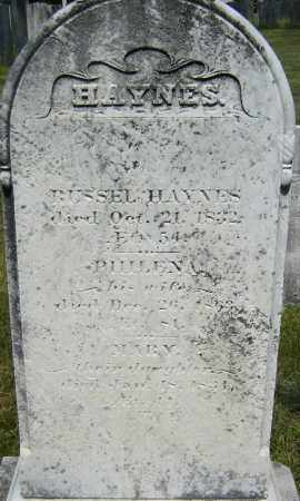 HAYNES, MARY - Middlesex County, Massachusetts | MARY HAYNES - Massachusetts Gravestone Photos