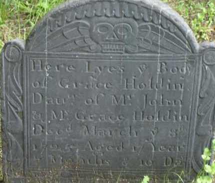 HOLDIN, GRACE - Middlesex County, Massachusetts | GRACE HOLDIN - Massachusetts Gravestone Photos