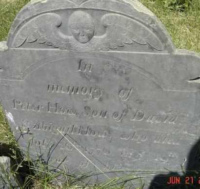 HOW, PETER - Middlesex County, Massachusetts | PETER HOW - Massachusetts Gravestone Photos