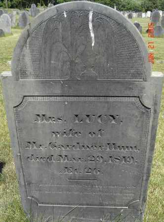 HUNT, LUCY - Middlesex County, Massachusetts | LUCY HUNT - Massachusetts Gravestone Photos