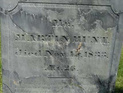 HUNT, MARTIN - Middlesex County, Massachusetts | MARTIN HUNT - Massachusetts Gravestone Photos
