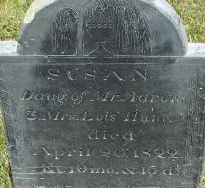 HUNT, SUSAN - Middlesex County, Massachusetts | SUSAN HUNT - Massachusetts Gravestone Photos