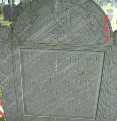 JONES, ELNATHAN - Middlesex County, Massachusetts | ELNATHAN JONES - Massachusetts Gravestone Photos