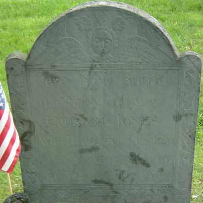 JONES, EPHRAIM - Middlesex County, Massachusetts | EPHRAIM JONES - Massachusetts Gravestone Photos