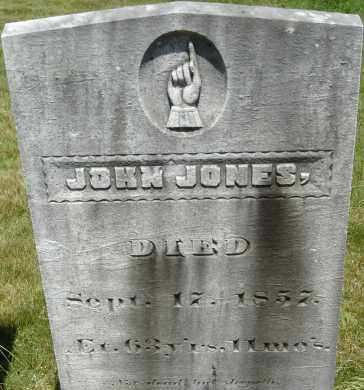 JONES, JOHN - Middlesex County, Massachusetts | JOHN JONES - Massachusetts Gravestone Photos