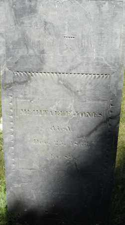 JONES, MEHITABLE - Middlesex County, Massachusetts | MEHITABLE JONES - Massachusetts Gravestone Photos