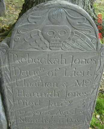 JONES, REBECKAH - Middlesex County, Massachusetts | REBECKAH JONES - Massachusetts Gravestone Photos