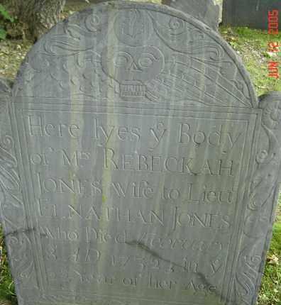 BARRETT, REBECKAH - Middlesex County, Massachusetts | REBECKAH BARRETT - Massachusetts Gravestone Photos