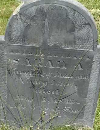 JONES, SARAH A - Middlesex County, Massachusetts | SARAH A JONES - Massachusetts Gravestone Photos