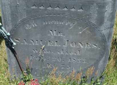 JONES, SAMUEL - Middlesex County, Massachusetts | SAMUEL JONES - Massachusetts Gravestone Photos