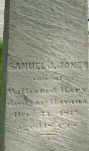 JONES, SAMUEL J - Middlesex County, Massachusetts | SAMUEL J JONES - Massachusetts Gravestone Photos