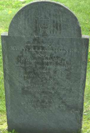 JONES, WILLIAM - Middlesex County, Massachusetts | WILLIAM JONES - Massachusetts Gravestone Photos