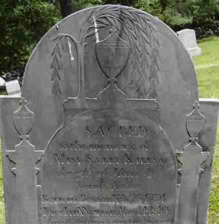 KILLSA, SALLY - Middlesex County, Massachusetts | SALLY KILLSA - Massachusetts Gravestone Photos