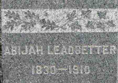 LEADBETTER, ABIJAH - Middlesex County, Massachusetts | ABIJAH LEADBETTER - Massachusetts Gravestone Photos