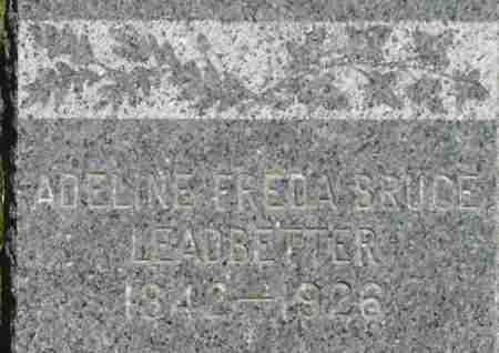 BRUCE LEADBETTER, ADELINE FREDA - Middlesex County, Massachusetts | ADELINE FREDA BRUCE LEADBETTER - Massachusetts Gravestone Photos