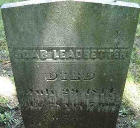 LEADBETTER, JOAB - Middlesex County, Massachusetts | JOAB LEADBETTER - Massachusetts Gravestone Photos