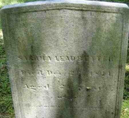 LEADBETTER, SARAH A - Middlesex County, Massachusetts | SARAH A LEADBETTER - Massachusetts Gravestone Photos