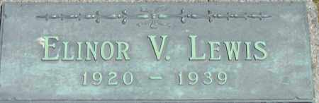 LEWIS, ELINOR V - Middlesex County, Massachusetts | ELINOR V LEWIS - Massachusetts Gravestone Photos