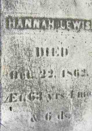 LEWIS, HANNAH - Middlesex County, Massachusetts | HANNAH LEWIS - Massachusetts Gravestone Photos