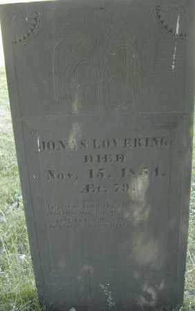 LOVERING, JONAS - Middlesex County, Massachusetts | JONAS LOVERING - Massachusetts Gravestone Photos