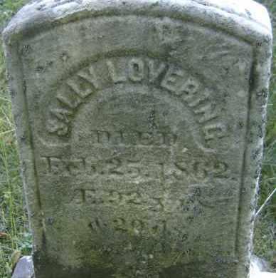 LOVERING, SALLY - Middlesex County, Massachusetts | SALLY LOVERING - Massachusetts Gravestone Photos