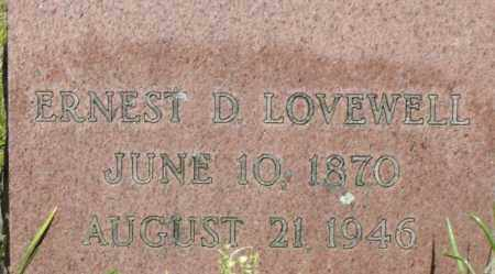 LOVEWELL, ERNEST D - Middlesex County, Massachusetts | ERNEST D LOVEWELL - Massachusetts Gravestone Photos