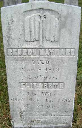 MAYNARD, REUBEN - Middlesex County, Massachusetts | REUBEN MAYNARD - Massachusetts Gravestone Photos