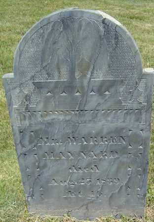 MAYNARD, WARREN - Middlesex County, Massachusetts | WARREN MAYNARD - Massachusetts Gravestone Photos