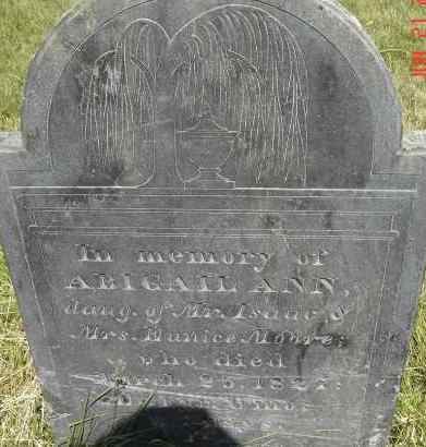 MOORE, ABIGAIL ANN - Middlesex County, Massachusetts | ABIGAIL ANN MOORE - Massachusetts Gravestone Photos