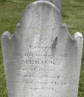 MOORE, MERICK - Middlesex County, Massachusetts   MERICK MOORE - Massachusetts Gravestone Photos