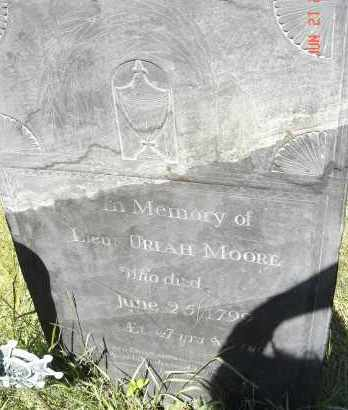 MOORE, URIAH - Middlesex County, Massachusetts | URIAH MOORE - Massachusetts Gravestone Photos