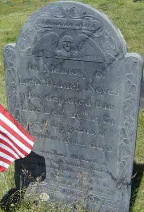 NOYES, DANIEL - Middlesex County, Massachusetts | DANIEL NOYES - Massachusetts Gravestone Photos