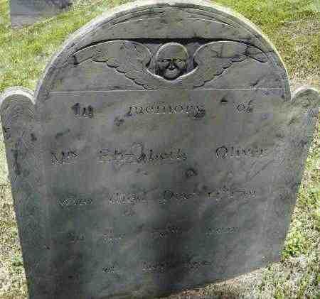 OLIVER, ELIZABETH - Middlesex County, Massachusetts | ELIZABETH OLIVER - Massachusetts Gravestone Photos