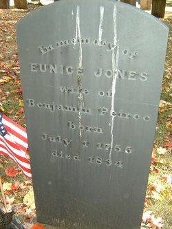 PEIRCE, EUNICE - Middlesex County, Massachusetts | EUNICE PEIRCE - Massachusetts Gravestone Photos