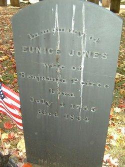 JONES, EUNICE - Middlesex County, Massachusetts | EUNICE JONES - Massachusetts Gravestone Photos